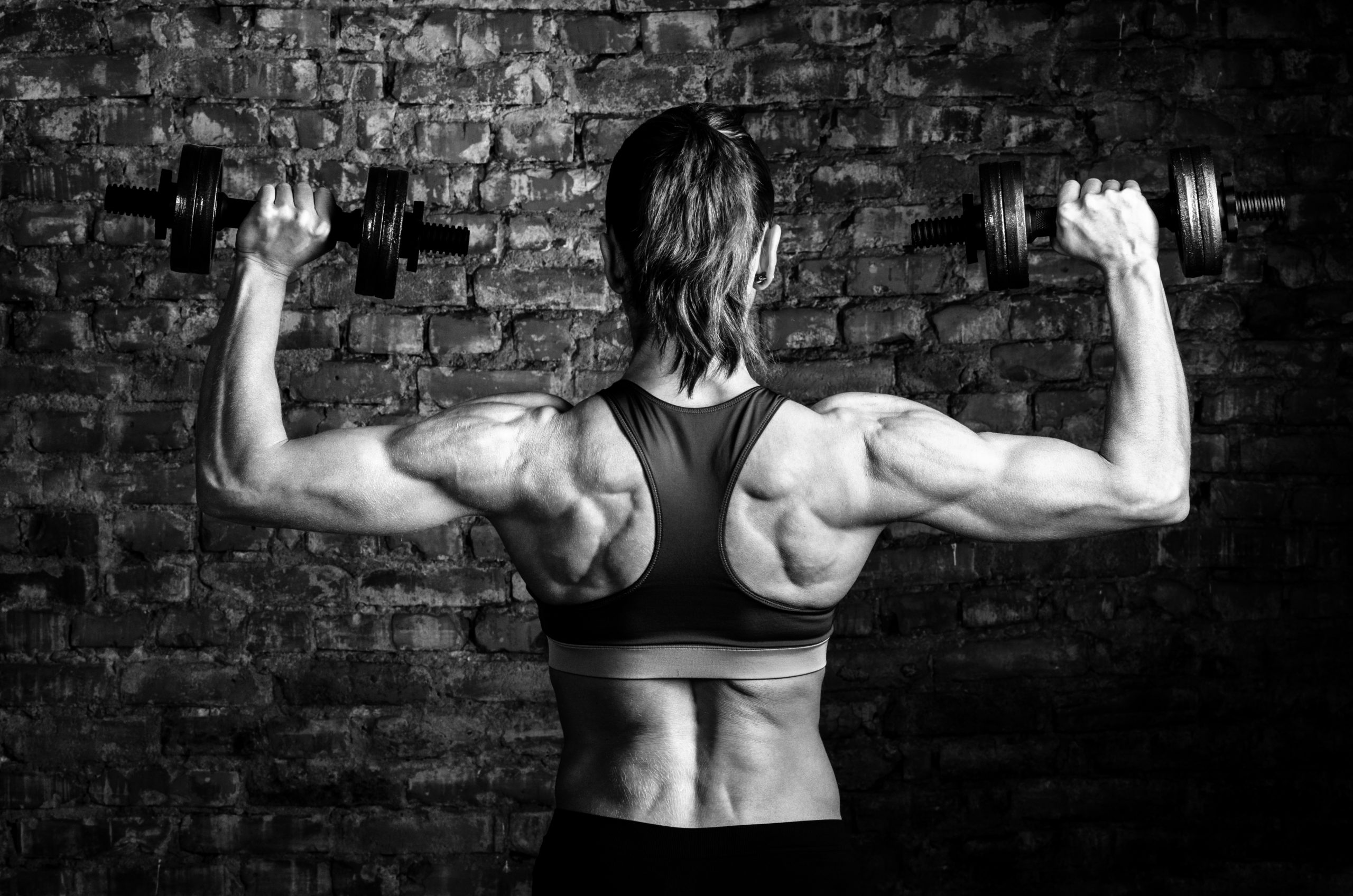 Shoulder muscles training