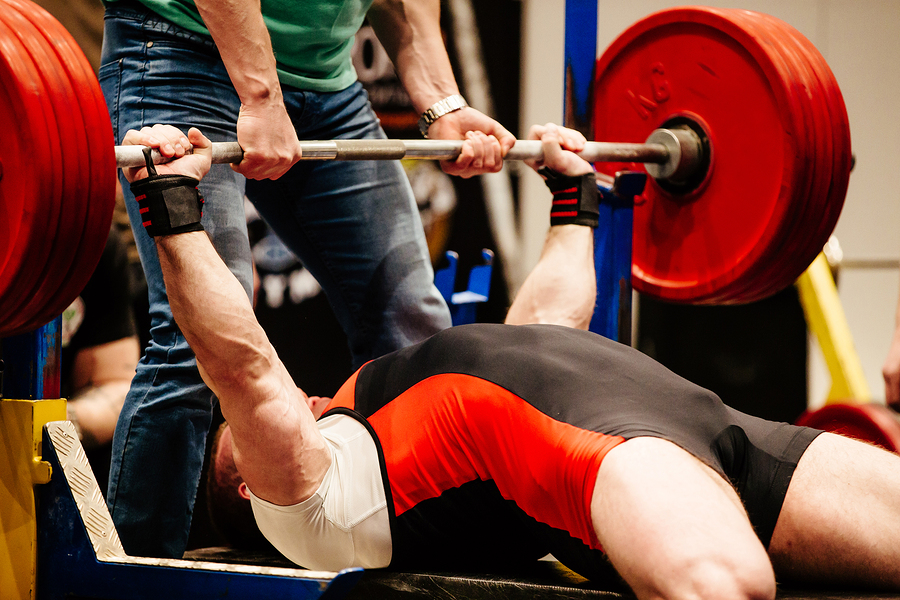 Bench press triceps powerlifting
