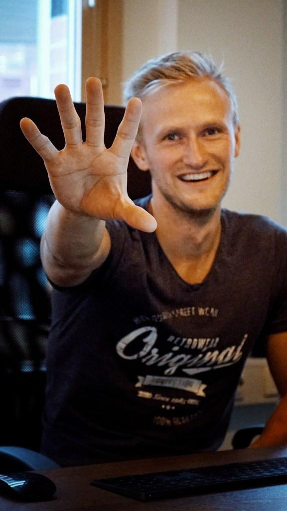 Nils Nordin StrengthLog