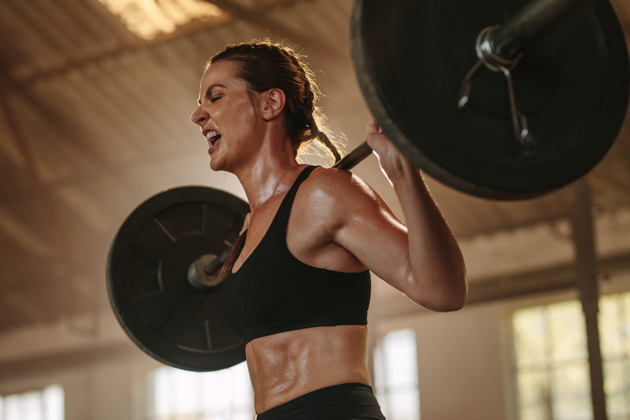 Squat training high repetitions predict muscle fiber type