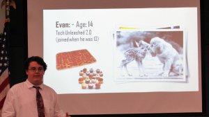 Evan Presenting