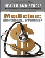 September 2013 Health and Stress Cover