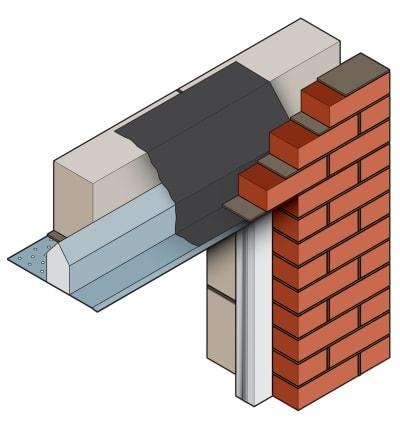 Stressline standard steel lintel