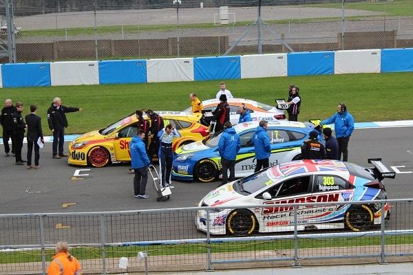 Stephen Jelley at Donington Test Track