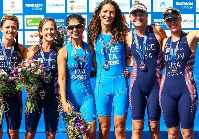 Reggio Calabria sul podio delle Paralimpiadi di Tokyo! Anna Barbaro strepitosa nel triathlon: è argento con la guida Charlotte Bonin