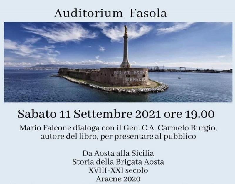 """A Messina si presenta il libro """"Da Aosta alla Sicilia. Storia della Brigata Aosta XVIII-XXI secolo"""":"""