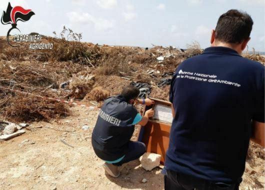 Sequestrate due discariche abusive a Lampedusa