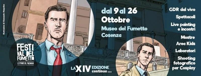 A Cosenza la XIV edizione del Festival del Fumetto Le Strade del Paesaggio