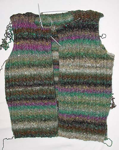 Knot Cable Jacket, Debbie Bliss, Noro Collection 2