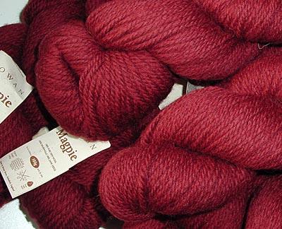Rowan Magpie, colour Ruby