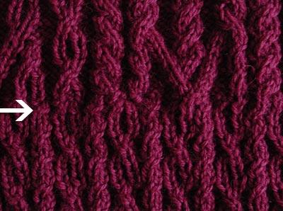 Malin, Musterdetail, pattern detail