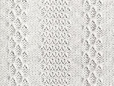 Senkrechte Fangmusterstreifen; vertical tuck stripes