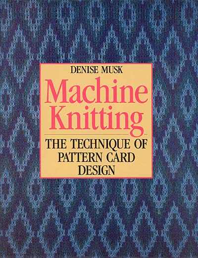 Denise Musk, the technique of pattern card design