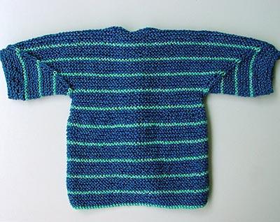 Baby Surprise Jacket, Rückseite/back