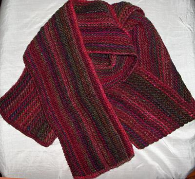 Schal/scarf, 200 g Noro Kureyon
