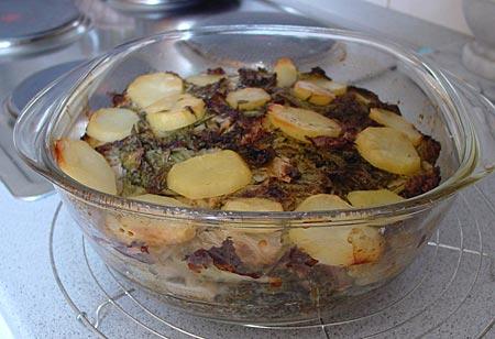 Irish Stew, fertig gegart