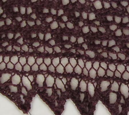 """Kleines Tuch """"Arietta"""", Detail"""
