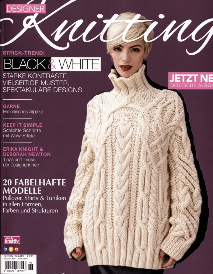 Designer Knitting Heft 6/2019