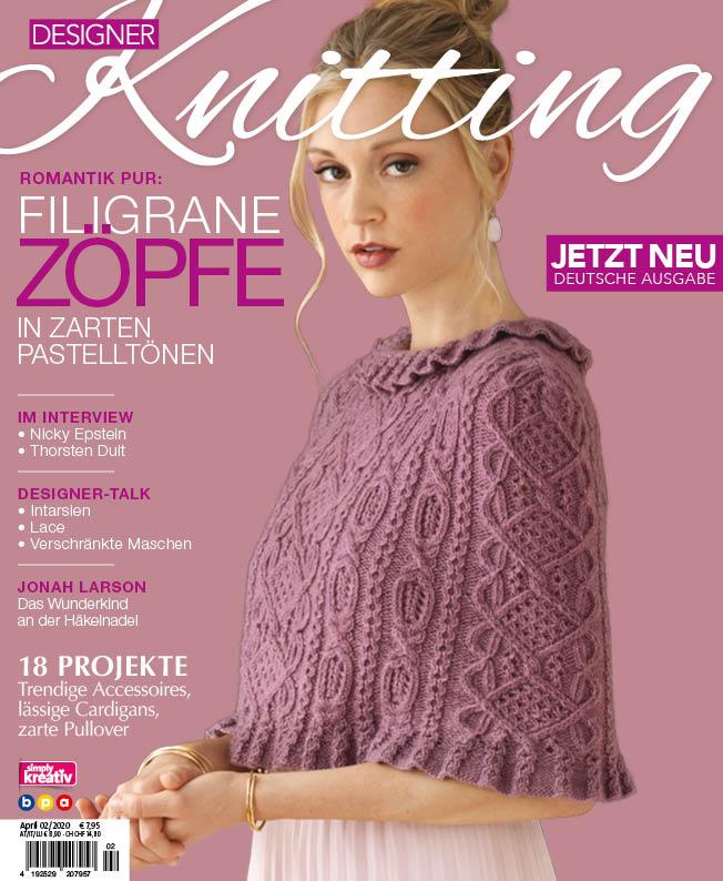 Titel Designer Knitting 2/2020