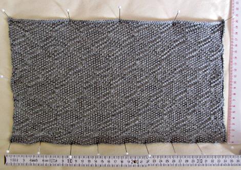 rechts-links-Muster mit KG-Schlitten