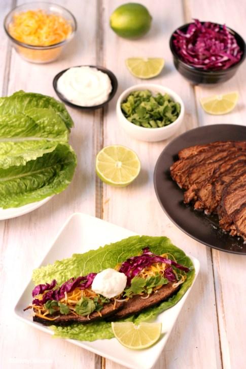Paleo Brisket Tacos | StrictlyDelicious.com