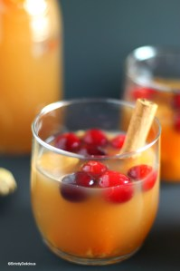"Cranberry Orange Apple Juice ""Sangria"" 