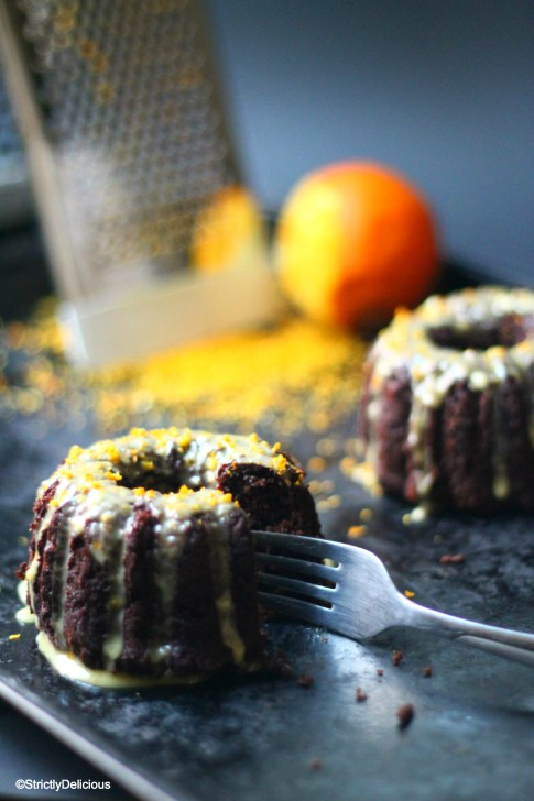 Grain-Free Orange Chocolate Cake | StrictlyDelicious.com