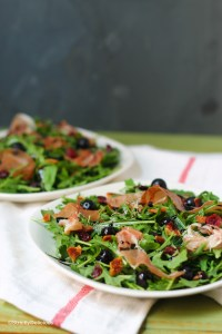 Berry Sweet Piggy Salad {paleo & AIP} | StrictlyDelicious.com