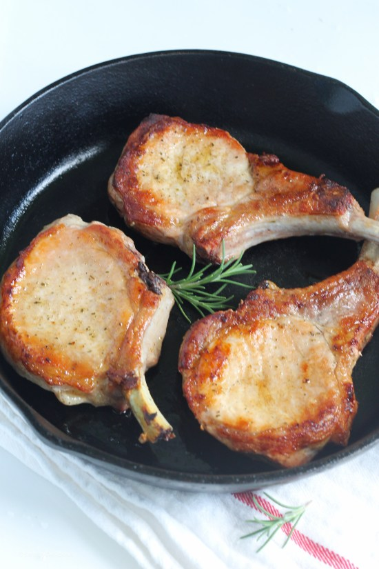 How to Cook Perfect Pork Chops   StrictlyDelicious.com
