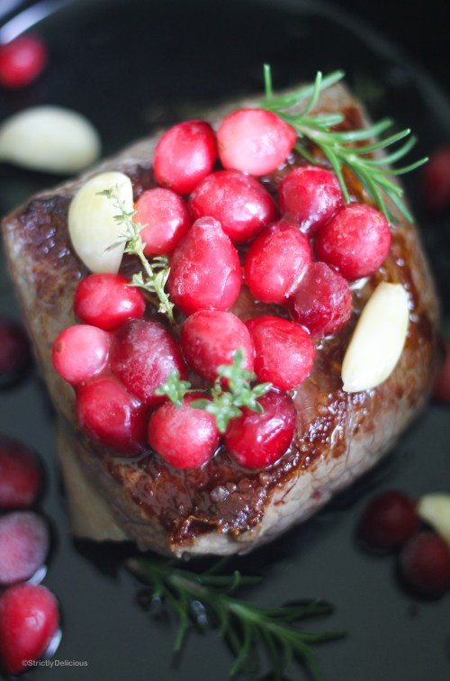 Slow Cooker Cranberry, Garlic & Herb Brisket | StrictlyDelicious.com