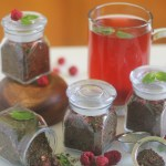 Homemade Raspberry Mint Green Tea Blend | StrictlyDelicious.com
