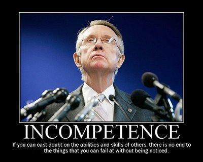 Harry Reid Incompetence