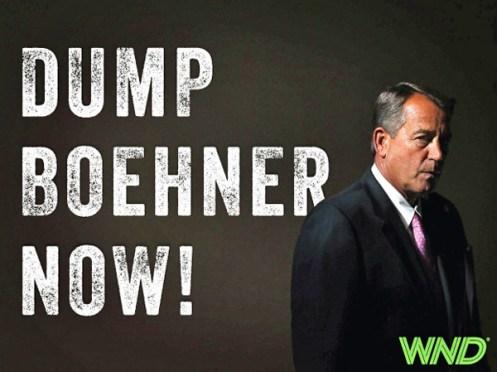 Boehner - Dump Boehner Now