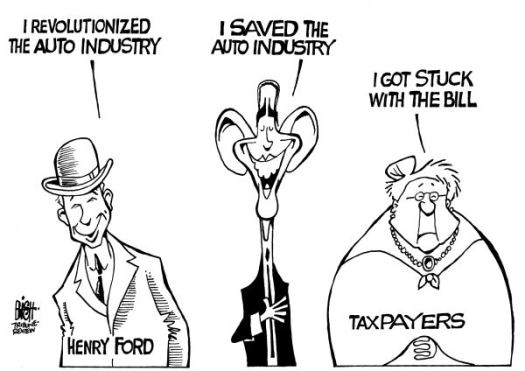 Auto bailout Obama Taxpayer