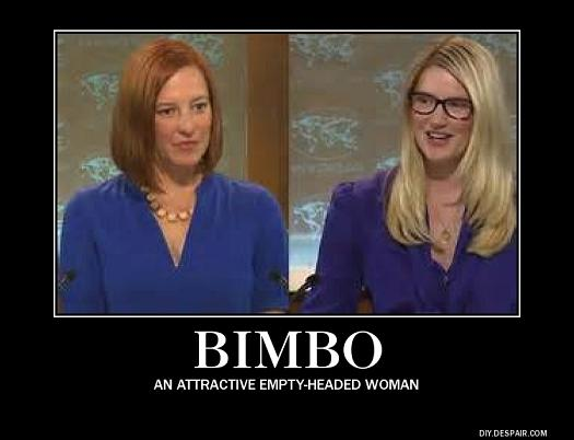 Bimbos in the State Dept