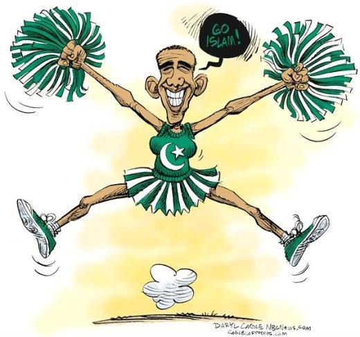Obama Muslim Cheerleader
