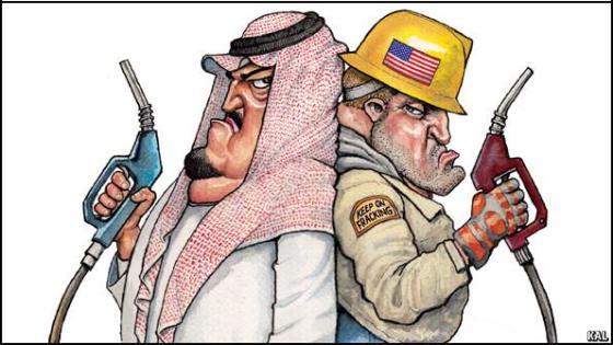 Arab America gas price standoff