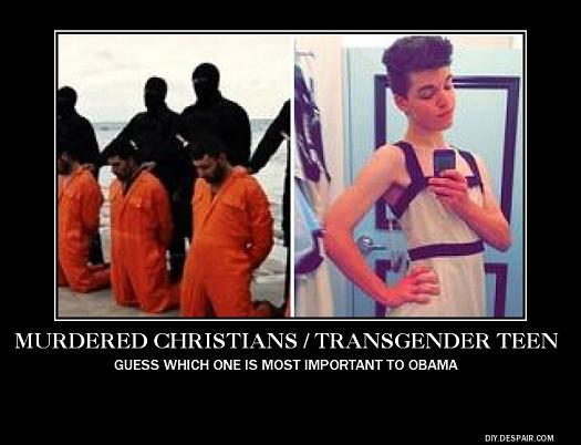Murdered Christians - Transgender Teen