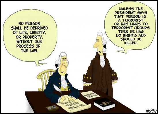 Fifth Amendment - modified