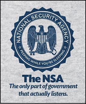 NSA - Only part of govt listening