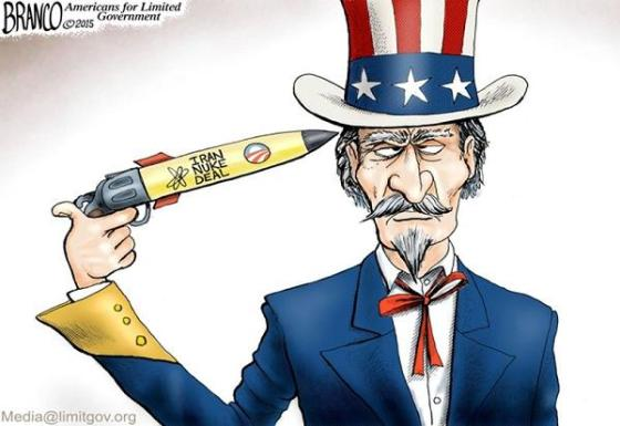 Iran Nuke Deal gun to head