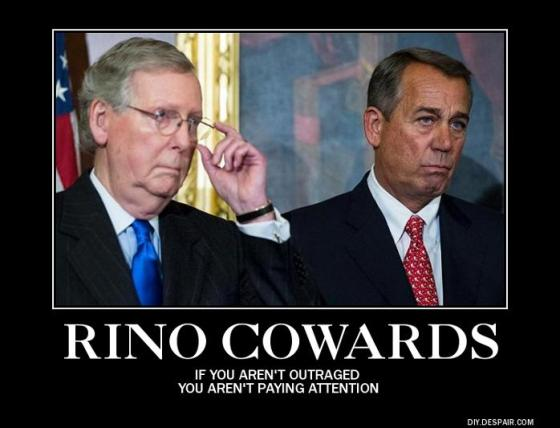 McConnell and Boehner - RINO cowards