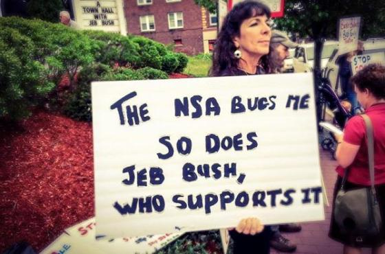 NSA bugs me - So does Bush