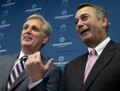 McCarthy and Boehner