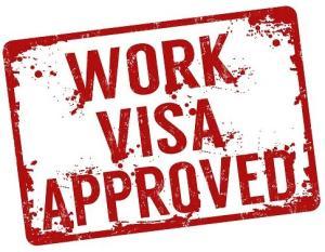 Work visa approved