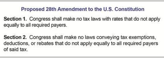 Proposed 28th Amendment