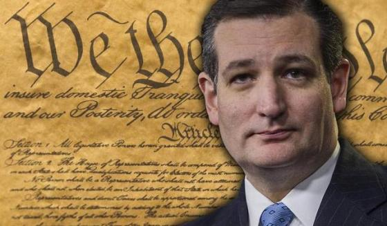 Ted Cruz and Constitution