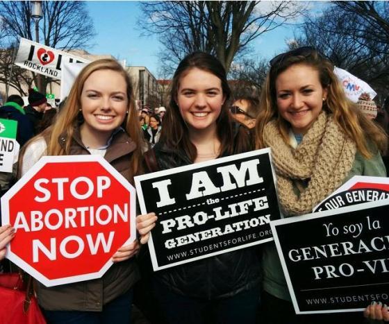 Abortion - Pro-life women