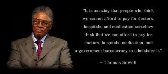 Obamacare - Thomas Sowell