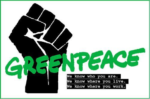 Greenpeace Fist